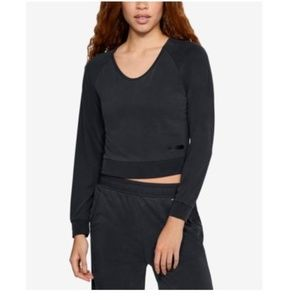 Under Armour Unstoppable Cropped Sweatshirt Black